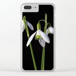 Spring Springs Eternal Clear iPhone Case