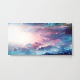 Galactic storm Metal Print