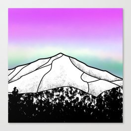 Whiteface mountain Canvas Print