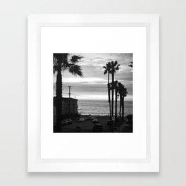 Classic Redondo Beach Framed Art Print