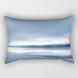 Soft winter sky Rectangular Pillow