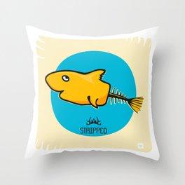 STRIPPED Throw Pillow