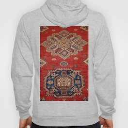 Natural Dyed Handmade Anatolian Carpet Hoody