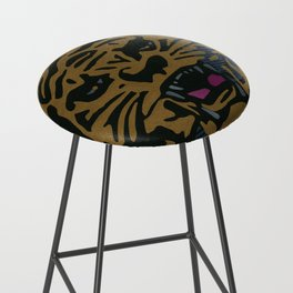 Golden Tiger Bar Stool
