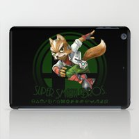 super smash bros iPad Cases featuring Fox - Super Smash Bros. by Donkey Inferno
