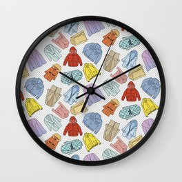 Coats Wall Clock