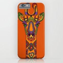 Jazzy the Giraffe #KidsArt #PopArt iPhone Case