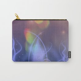 abstract lines on pastel celestial backgrounds Carry-All Pouch