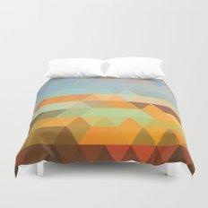 Simple Sky - Sunset Duvet Cover