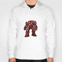 iron man Hoodies featuring IRON MAN iron man by alifart