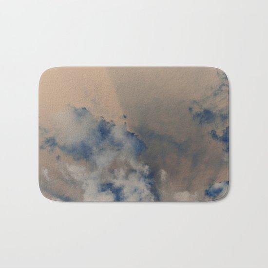 Deep Time Clouds Bath Mat