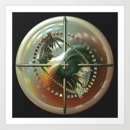 Shield of the Natural World Art Print