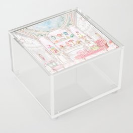 French Patisserie  Acrylic Box