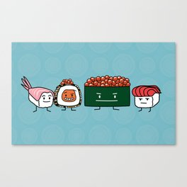 Sushi Bros Canvas Print