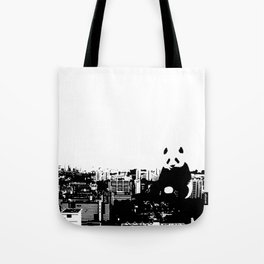 Giant Panda Invades Toa Payoh. Tote Bag