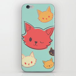 Kitty Wink iPhone Skin