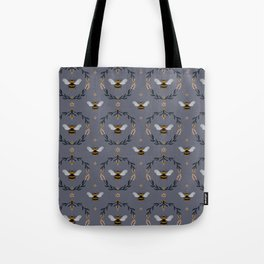 Ode to the Bumblebee (in lavender) Tote Bag