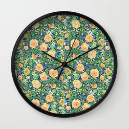 Rosie bed - YELLOW Wall Clock