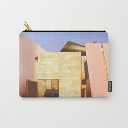 Modern Architecture. oil painting Carry-All Pouch
