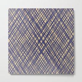 spaghetti stripes Metal Print