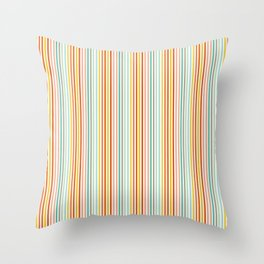 Striped Up Throw Pillow