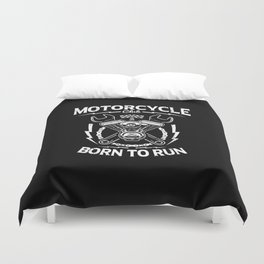 Motorcycle club Duvet Cover
