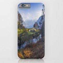 Nant Ffrancon Pass iPhone Case