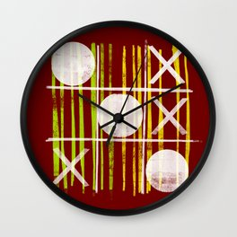 Victory Is Nought Wall Clock