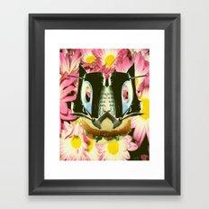 Cat Sandwich Framed Art Print