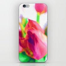 Harborough Tulips - Watercolour Paiting iPhone & iPod Skin