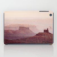 geology iPad Cases featuring Valley of The Gods by Helix Games Media