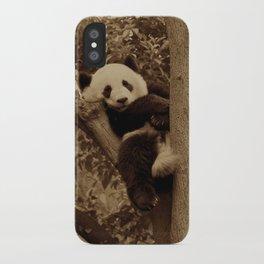 I love pandas!  iPhone Case