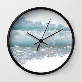 Ephemeral (Wanderlust) Wall Clock