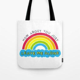 The Introverts Plea | Leave Me Alone Tote Bag