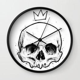 King of fools Wall Clock
