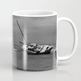 sunken boat Coffee Mug