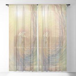 Cosmic Wave Sheer Curtain