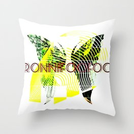 ButterFooFoo Throw Pillow