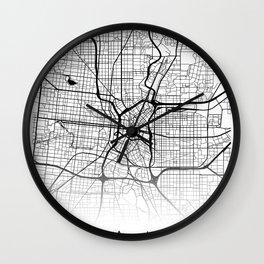 City Map Neck Gaiter San Antonio Texas Neck Gator Wall Clock
