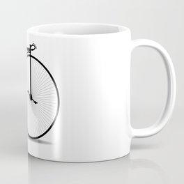 Penny Farthing Silhouette Coffee Mug