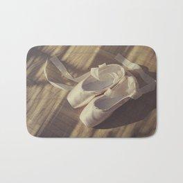 Ballet dance shoes Bath Mat