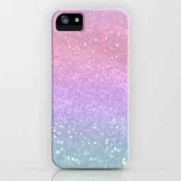 Unicorn Princess Glitter #1 (Photography) #pastel #decor #art #society6 iPhone Case