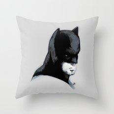Vigilante Watercolor Fine Art Print Throw Pillow