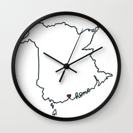 nb love Wall Clock