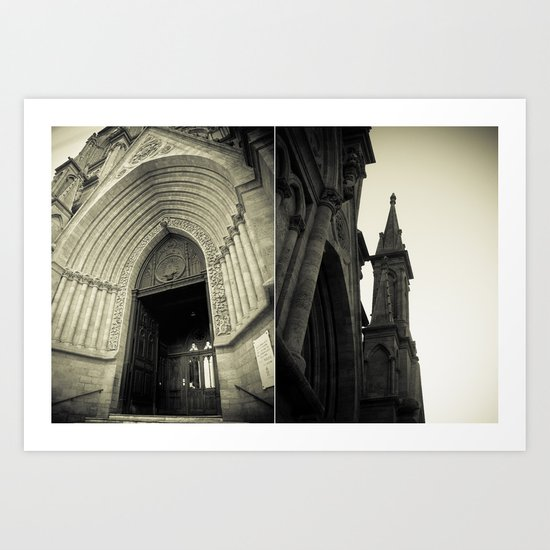 Architectural Photography - Luján, Buenos Aires (1) Art Print