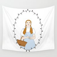 dorothy Wall Tapestries featuring Dorothy Gale by Whiteland