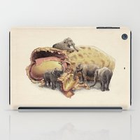 yetiland iPad Cases featuring Elephant's Paradise by Eric Fan