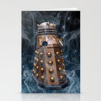 dalek Stationery Cards featuring Dalek by Steve Purnell