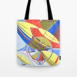 travel across the sky Tote Bag