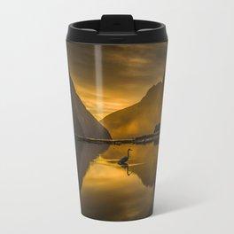 Kotuku sunset Travel Mug